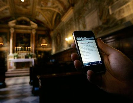 Social Network Liturgy: Putting down the iPhone