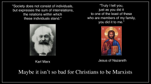 Jesus and Karl Marx