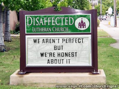 All You Disaffected Evangelicals should Become Lutheran