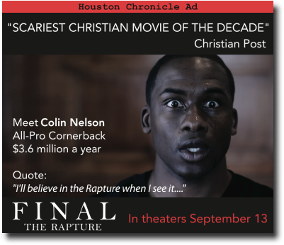 The Christian Horror Movie that will Win People to Jesus