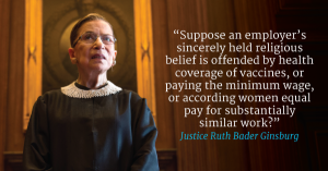 RBG on Hobby Lobby - blog