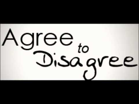Christians need to disagree with each other