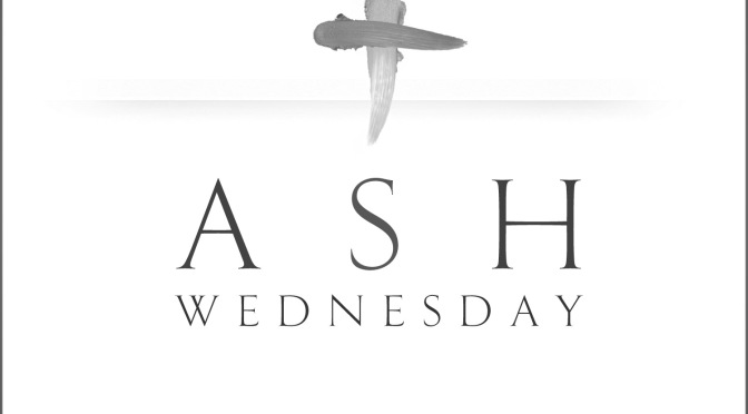 This Ash Wednesday, I can't do 'Ashes to Go' or '#Ashtag'