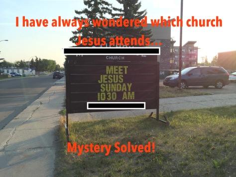 Jesus Attends