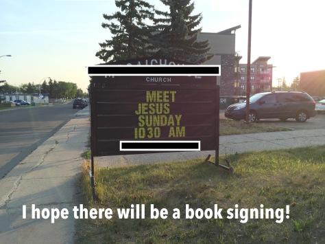 Jesus Book Signing