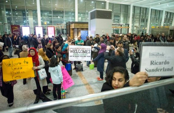 Refugees Welcome – God sent YOU to us