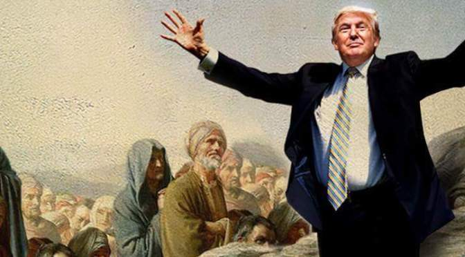 The Beatitudes According to Trump
