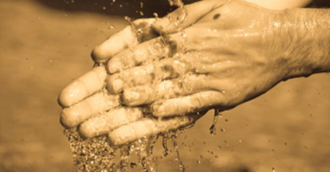 Wash your hands or don't – it doesn't matter to God