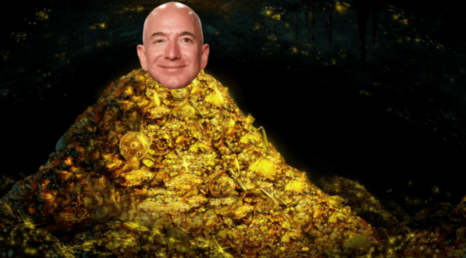 Can Jeff Bezos inherit eternal life?