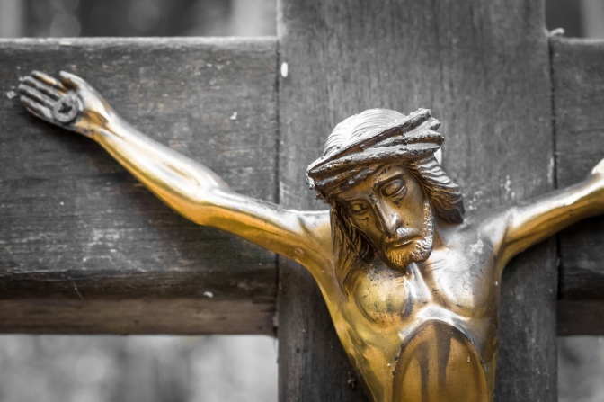 The Crucified God is God – and we are not