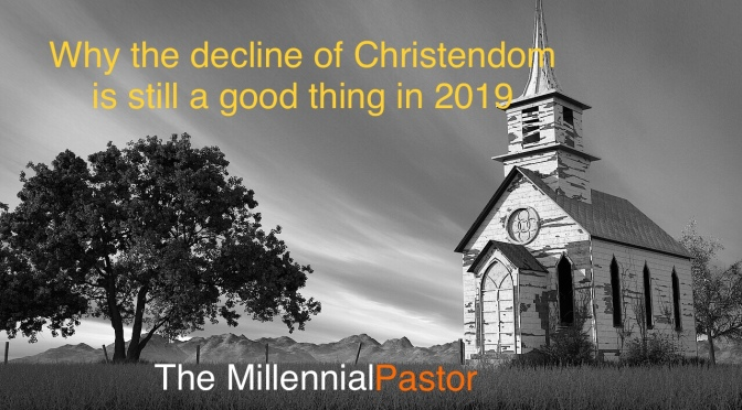 Closing 9000 churches in Canada – Why decline might still be a good thing in 2019